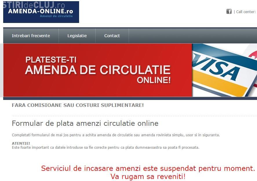 Cum funcționa amendaonline.ro, site - ul din Cluj unde se plăteau ilegal amenzi