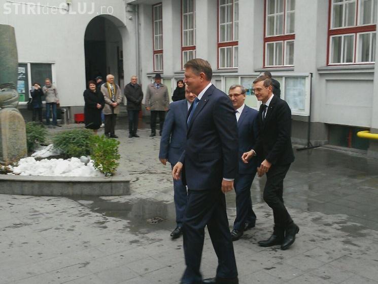 Iohannis la Cluj: România se va implica economic în Republica Moldova