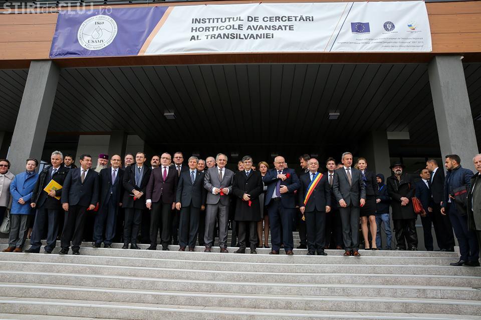 Premierul Dacian Cioloș a inaugurat la Cluj cel mai mare institut de cercetare din Transilvania