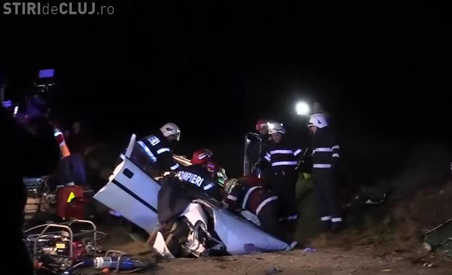 Accident mortal pe centura Gherla! O tânâră de 28 de ani din Luna de Jos a decedat - VIDEO