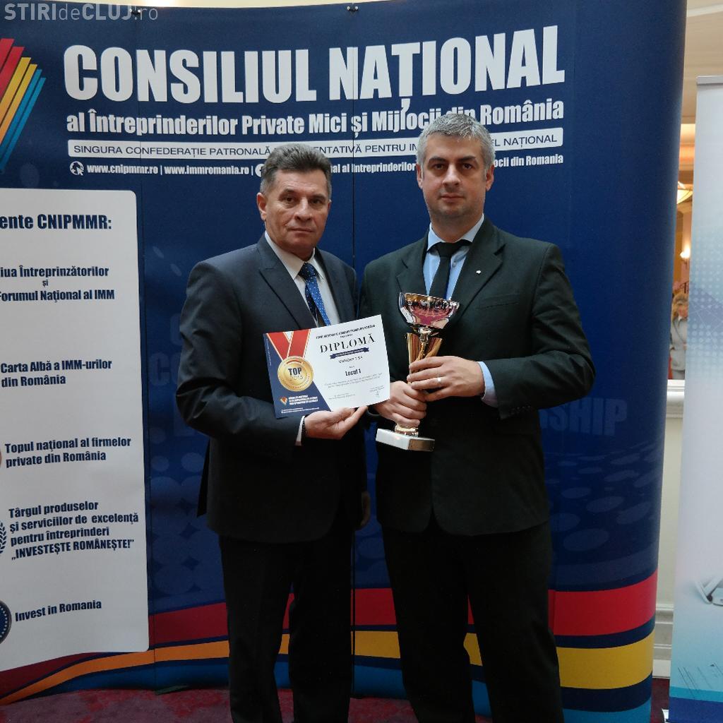 """Univers """"T"""", locul I în Topul Național al Firmelor Private din România"""