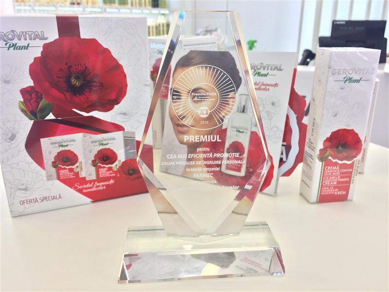 Clujenii de la Farmec au câștigat premiul pentru cea mai eficientă promoție la Premiile Piața. Ce campanie le-a adus trofeul