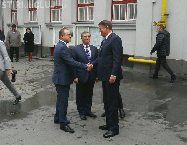 Iohannis la Cluj: Să fim mai activi în zona estică în gestionarea conflictelor. Decât să nu facem nimic, mai bine ne implicăm