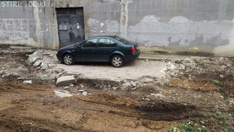 Cluj-Napoca - Acest șofer pare că nu mai are nevoie de mașină - FOTO