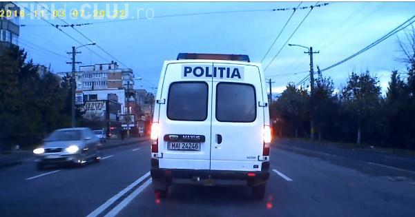 Duba de Poliție a oprit, în Mărăști, în mijlocul drumului! Ce a urmat depășește orice imaginație - VIDEO