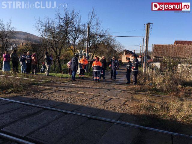 CLUJ: Minoră căzută din tren între Dej și Gherla / UPDATE: A fost găsită - FOTO