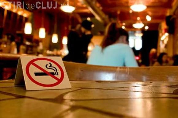 Cluj: Prima amendă pentru fumat într-un local public
