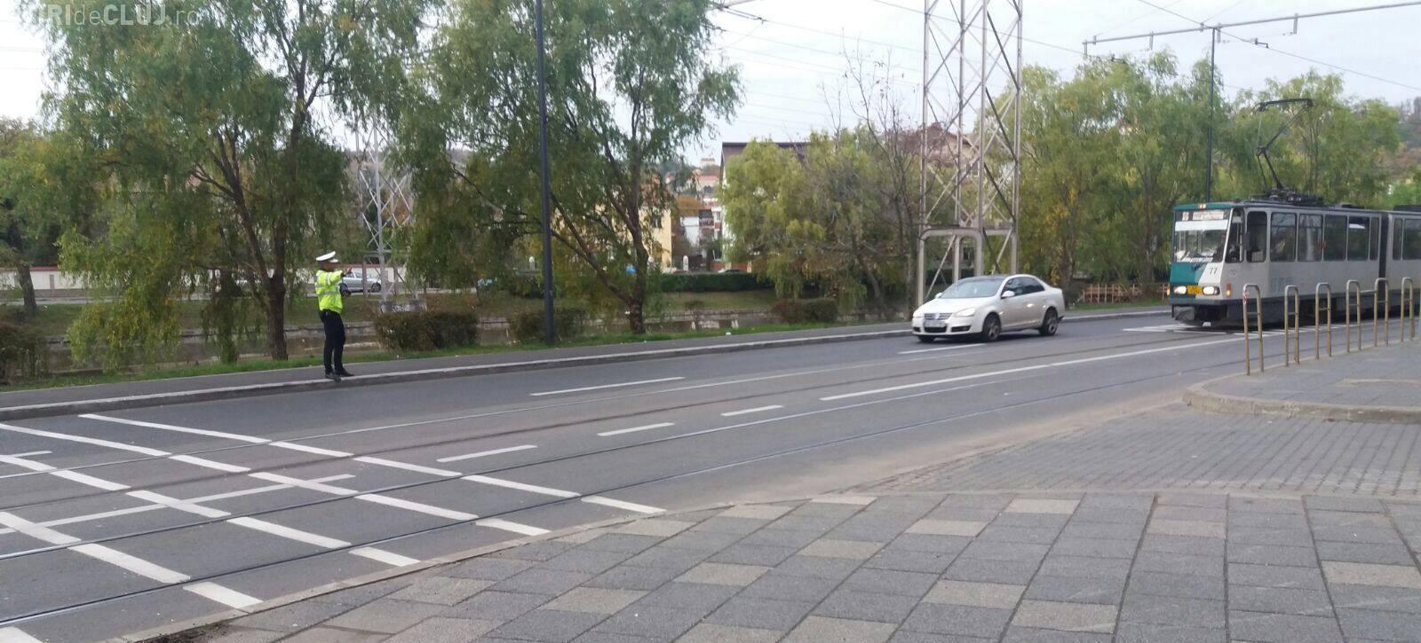 Razie pe strada Splaiul Independenței, din Cluj. Câți șoferi au rămas fără permis în doar câteva ore