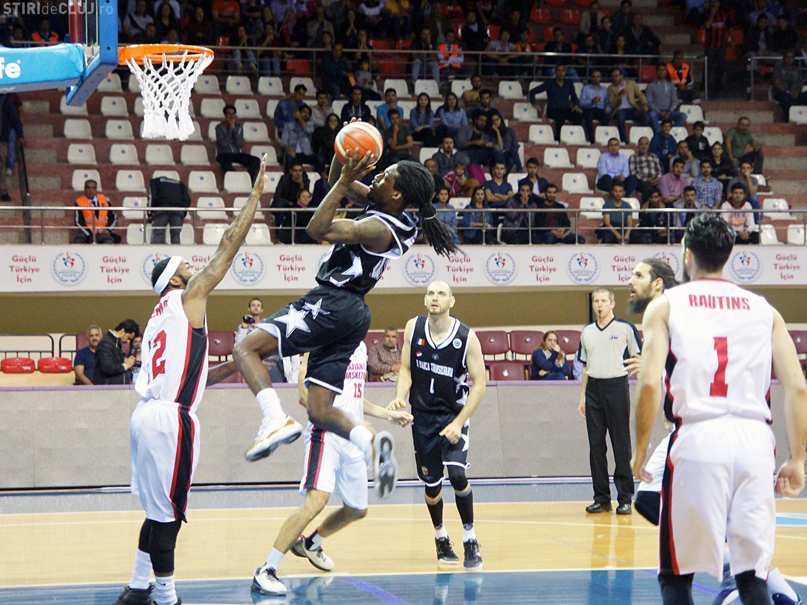 U-Banca Transilvania e pregătită de meciul cu Gaziantep, din grupele FIBA Europe Cup