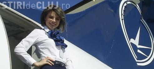 Stewardesa care a umilit-o pe Loredana Chivu a câştigat procesul cu TAROM