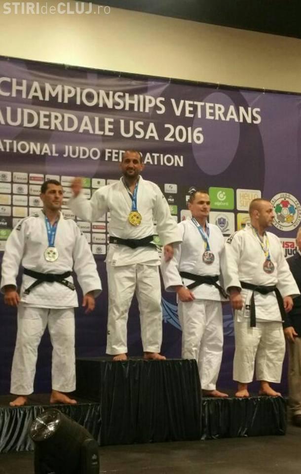 Jandarmul clujean Adrian Petre a câștigat medalia de bronz