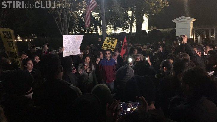 """Val de proteste în SUA, după ce Trump a câștigat alegerile: """"Nu ești președintele meu!"""""""