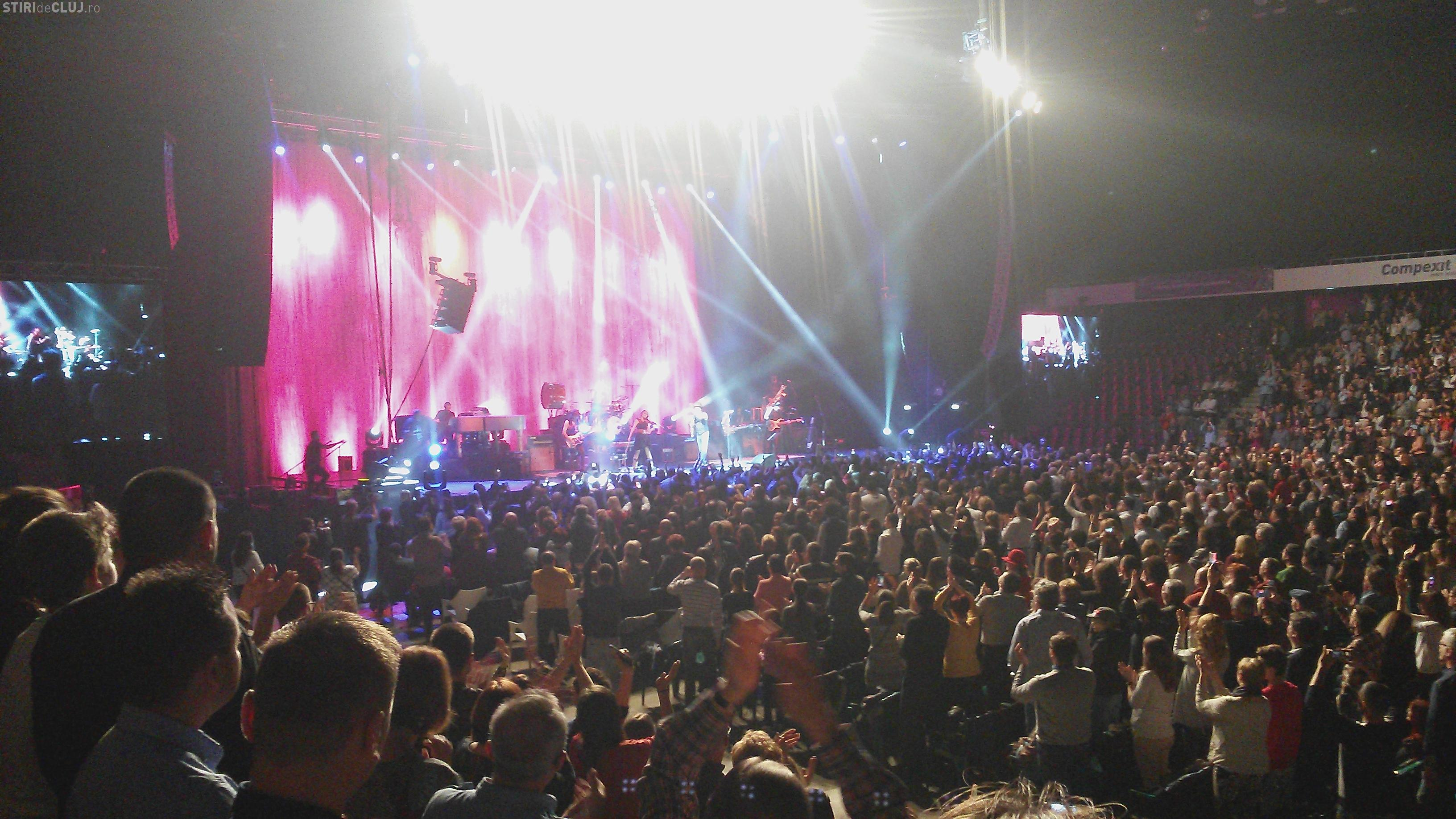 Zucchero a făcut senzație la Cluj. De ce a fost foarte TARE concertul - VIDEO