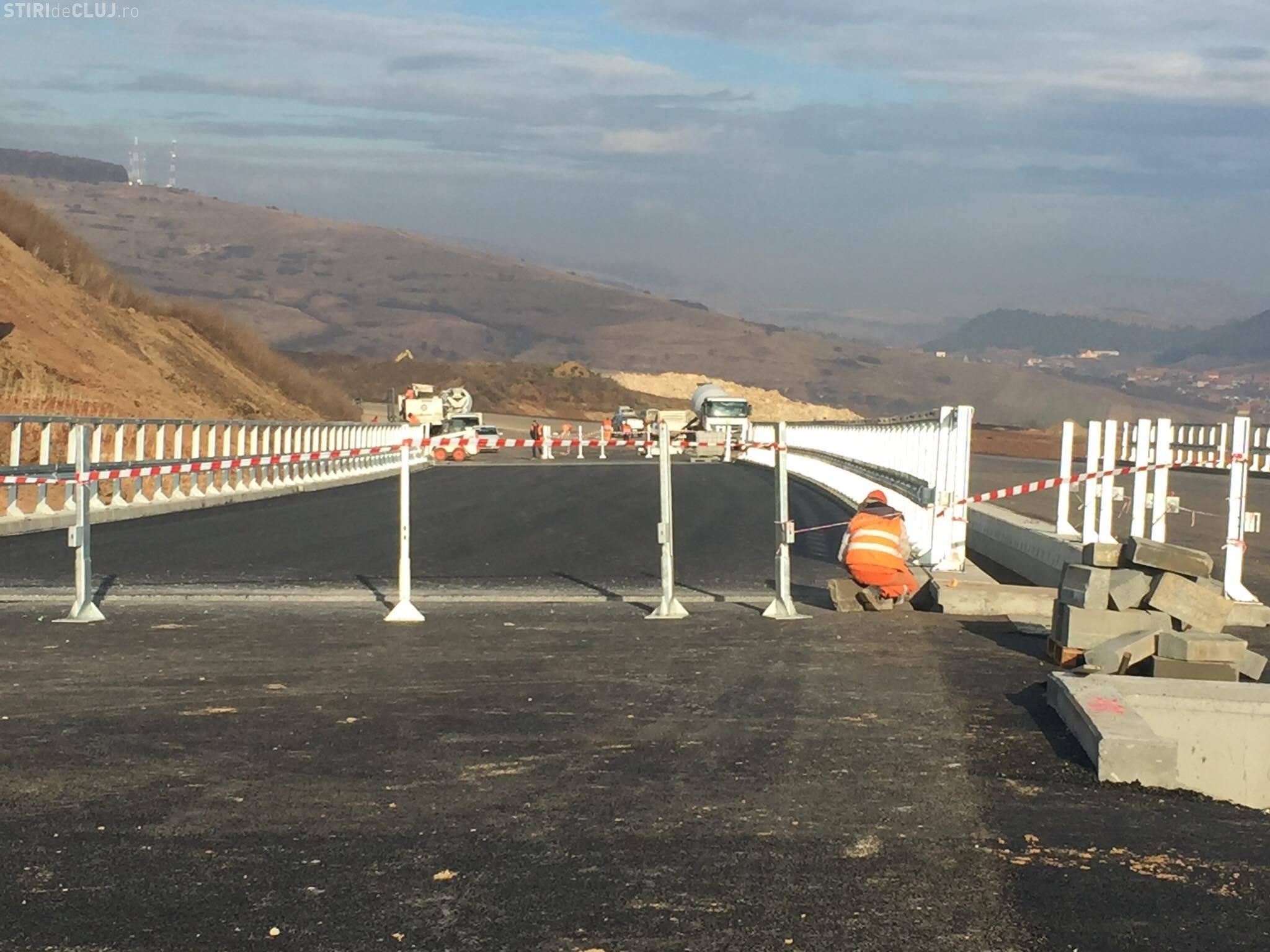 O autostradă din Cluj este aproape finalizată. Vizită pe ascuns a ministrului Transporturilor