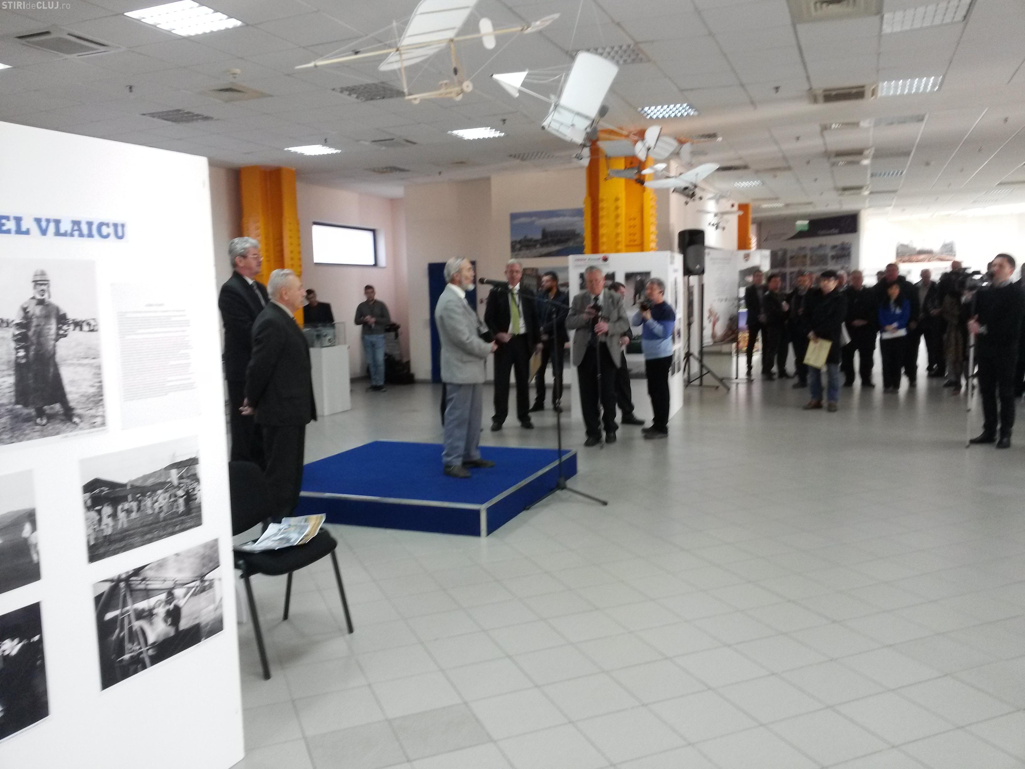 """Aeroportul Cluj găzduiește expoziția """"ISTORIA INDUSTRIEI AERONAUTICE DIN ROMÂNIA"""""""