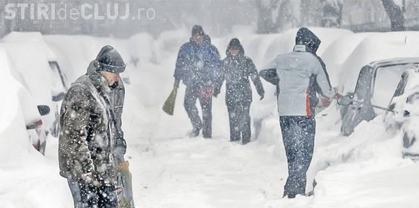 Meteorologii anunță câteva zile de ninsori puternice și viscol! Toată țara e sub COD GALBEN