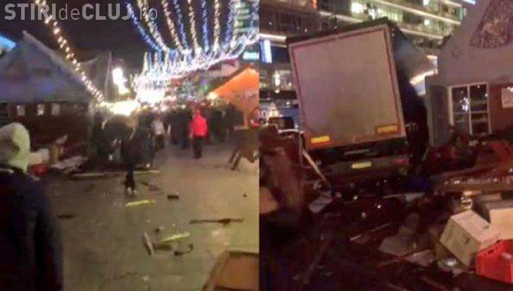 Imagini de la atentatul din Berlin. Sunt cel puțin 9 morți - FOTO