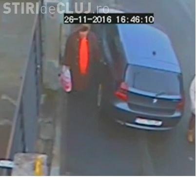 Bătrână surprinsă în timp ce zgârie o mașină parcată, în Iris VIDEO