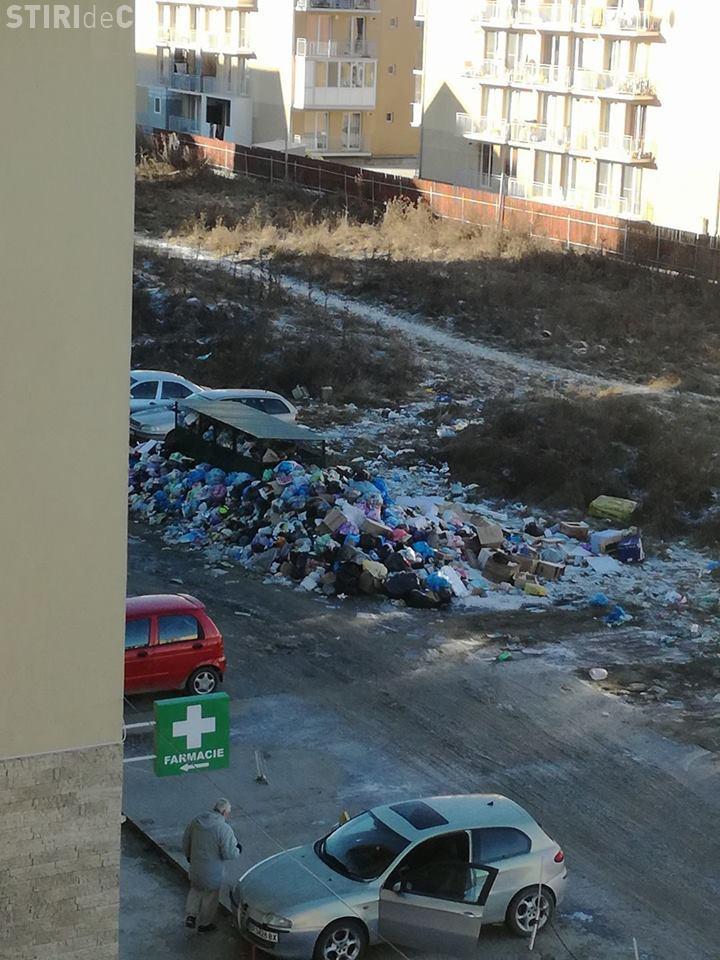 Floreștiul va avea sărbători în gunoaie. Consilierii locali din Florești s-au opus a treia oară infuziei de capital în firma de salubritate