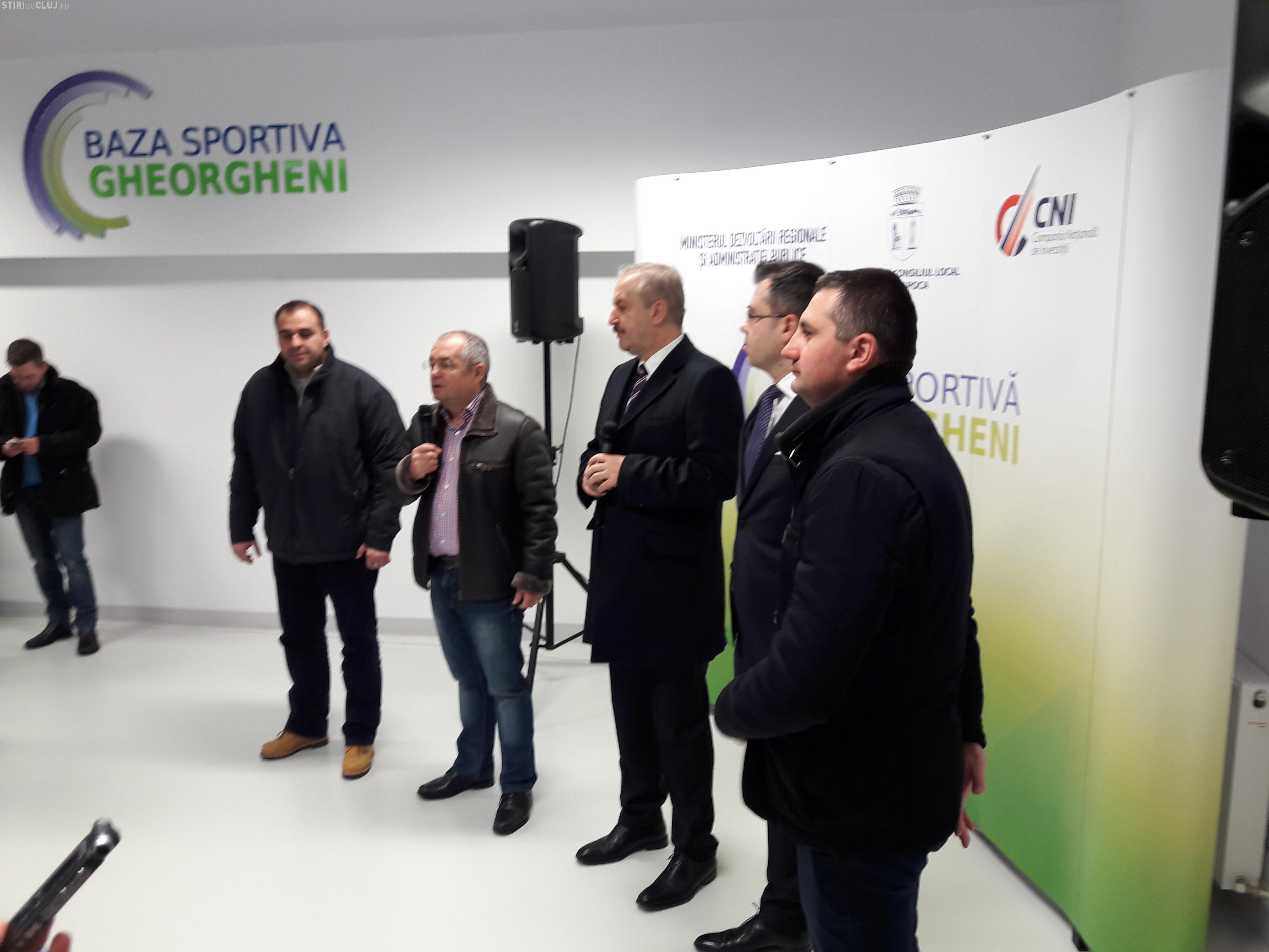 S-a inaugurat cea mai modernă bază sportivă a Clujului. Vezi cum se face accesul FOTO/VIDEO