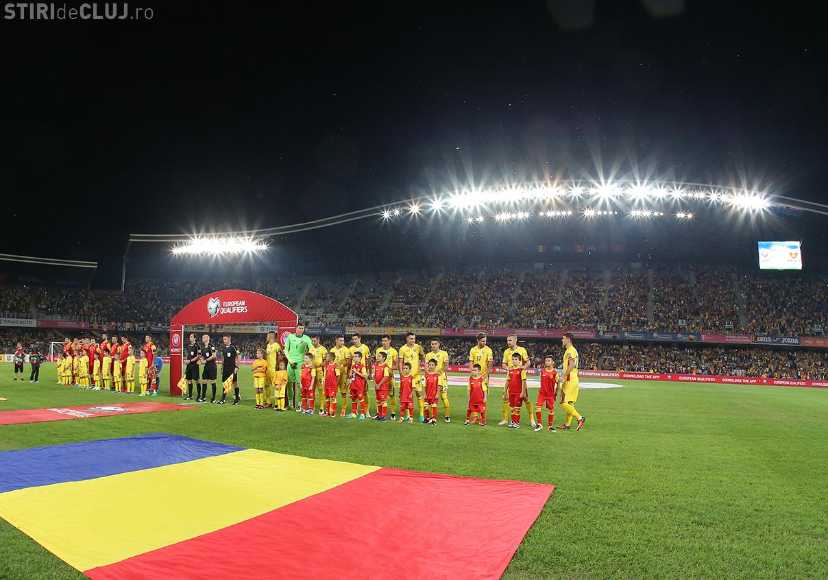 E oficial! Naționala României joacă meciul cu Danemarca pe Cluj Arena