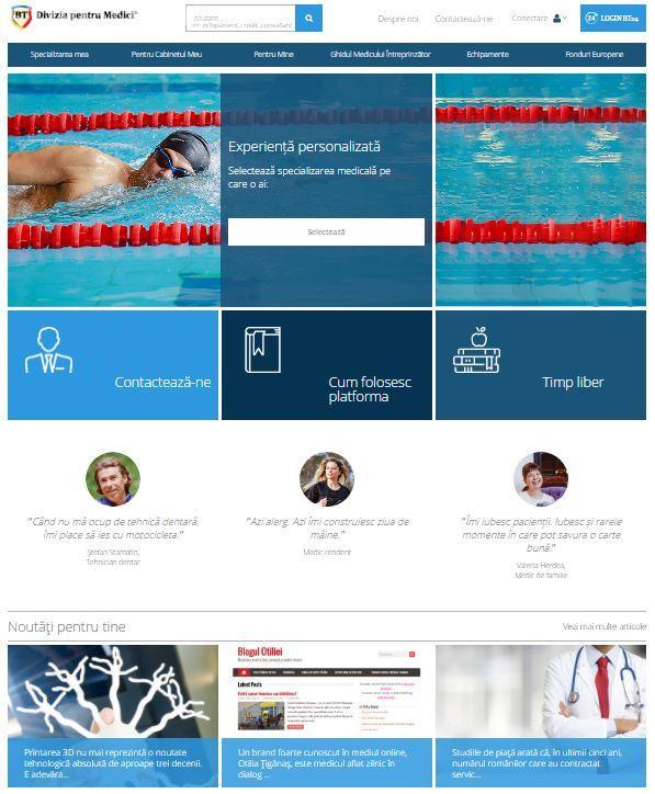 Banca Transilvania lansează prima platformă online dedicată medicilor din România