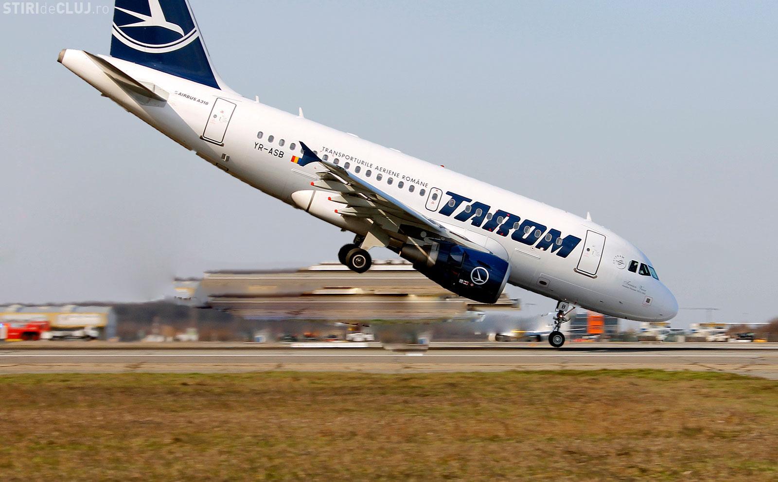 TAROM e în picaj: A refuzat să zboare spre Cluj-Napoca, invocând ceața, dar Blue Air zbura