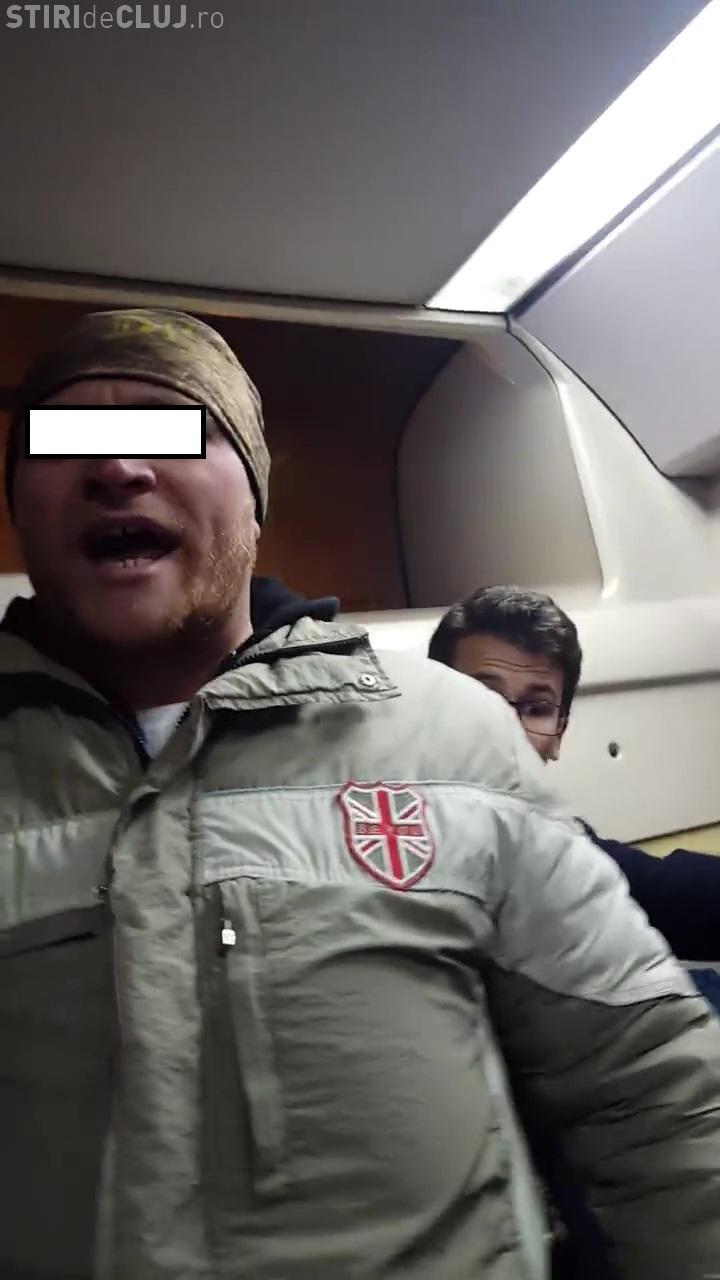 """Clujean sechestrat în troleibuzul 6. Controlor: """"Sari la mine, că îți rup fața! Inima din gură ți-o scot"""" - VIDEO"""