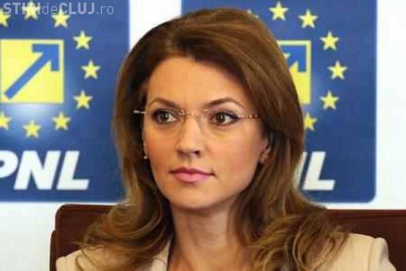 Alina Gorghiu și-a dat demisia de la șefia PNL