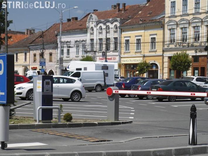 Parcarea în centrul Clujului costă 12 lei pe oră, după 3 ore de staționare