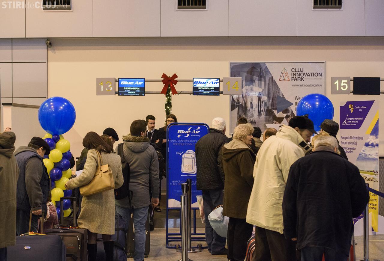 O nouă cursă low-cost s-a lansat de pe Aeroportul Cluj-Napoca, către Marea Britanie