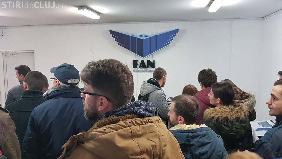 Fan Courier și-a dat afară toți angajații de la Cluj / UPDATE: Poziția Fan Courier Cluj