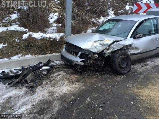 CLUJ: Un pompier a fost rănit grav de un șofer RUPT de beat la volan, într-un accident la Dej VIDEO