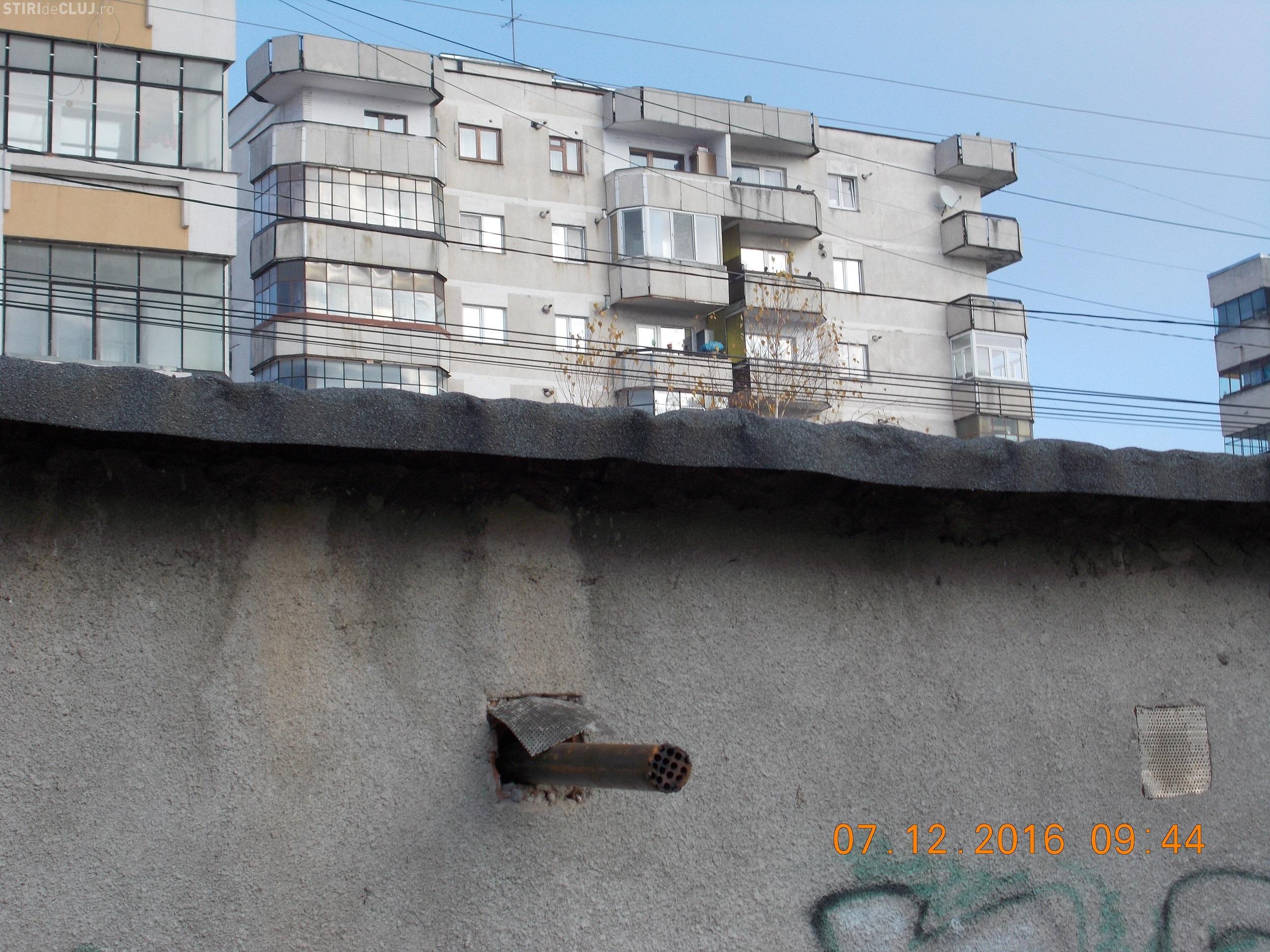 POZA ANULUI la Cluj! Garajul afumătoare din cartierul Între Lacuri - FOTO