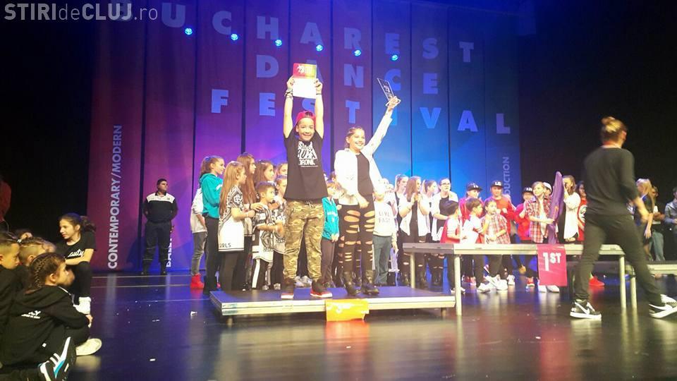 Clujenii de la Genessis Dance Studio au dominat competiția Bucharest Dance Festival. Ce premii au obținut FOTO