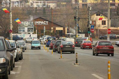 Trei benzi de circulație pe Calea Dorobanților! Vezi ce modificări a făcut Primăria