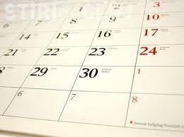 Câte zile libere au românii în 2017