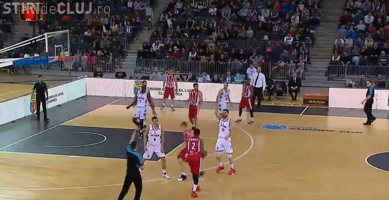 U-BT Cluj-Napoca a obținut o victorie uriașă în FIBA Europe Cup