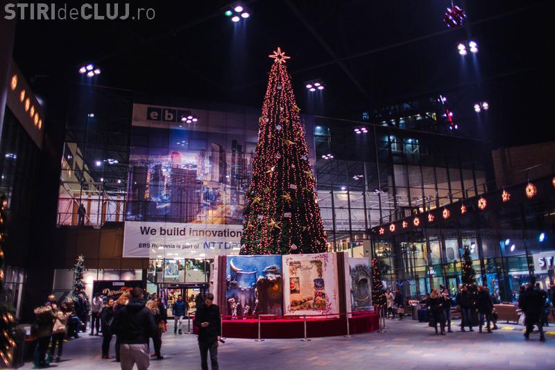 Vineri se aprind luminile de Crăciun la Iulius Mall Cluj. Ai ocazia sa câștigi 5.000 de premii instant