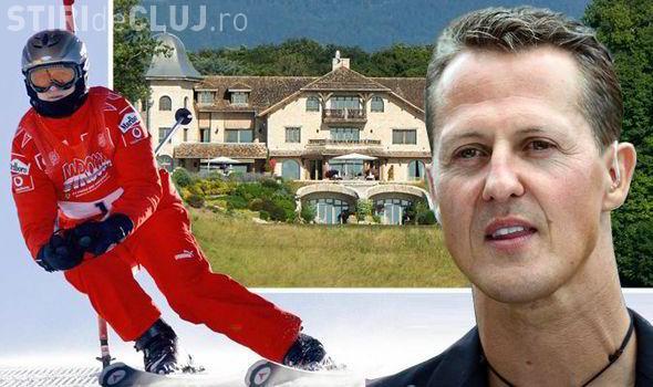 Prima fotografie cu Schumacher, după accidentul la ski