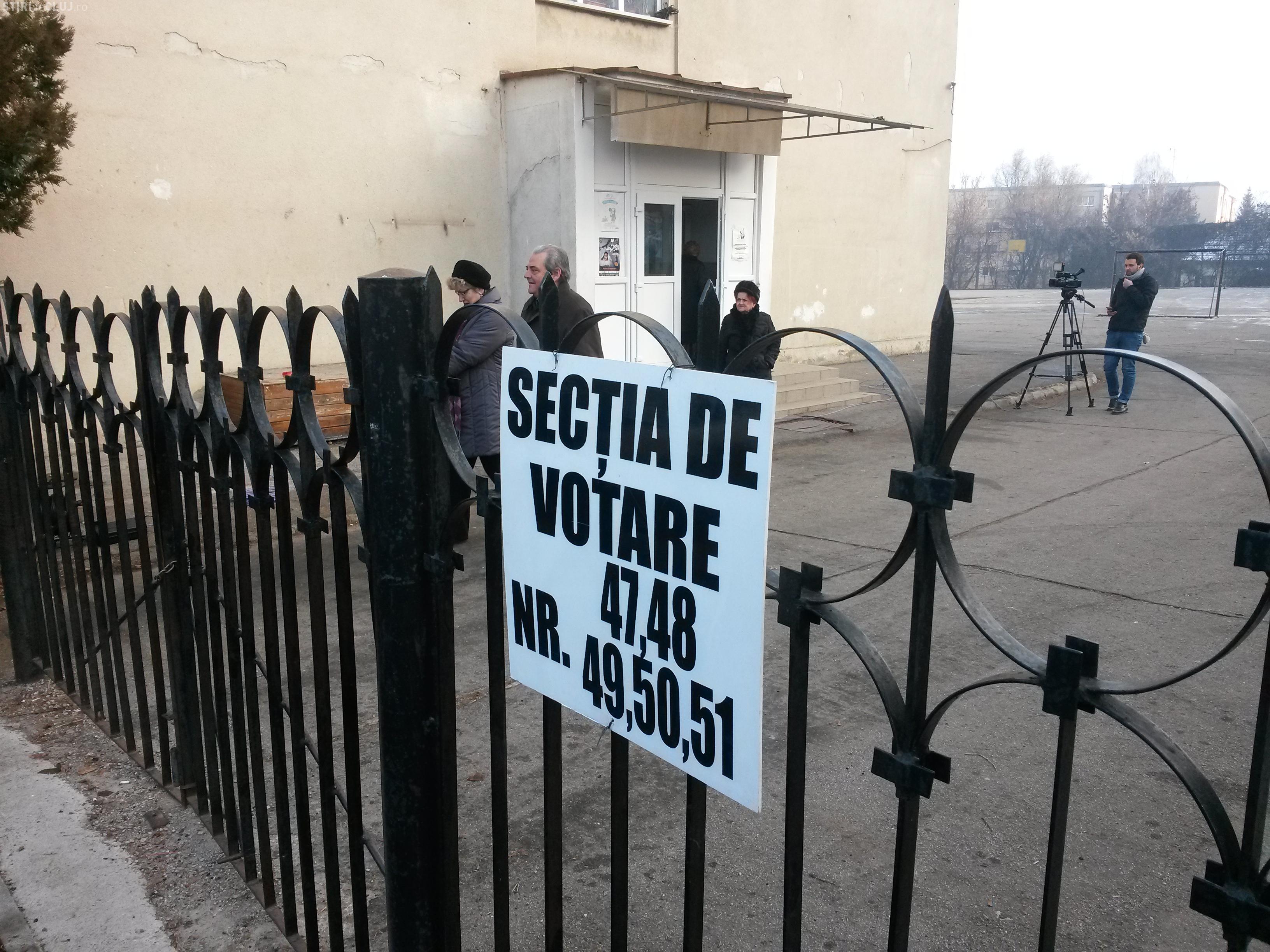 Prezenta la VOT Cluj. Câți clujeni s-au prezentat la vot. De ce nu iese lumea la VOT?