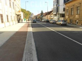 Cluj-Napoca: Amplasare prag de sol pe strada Avram Iancu