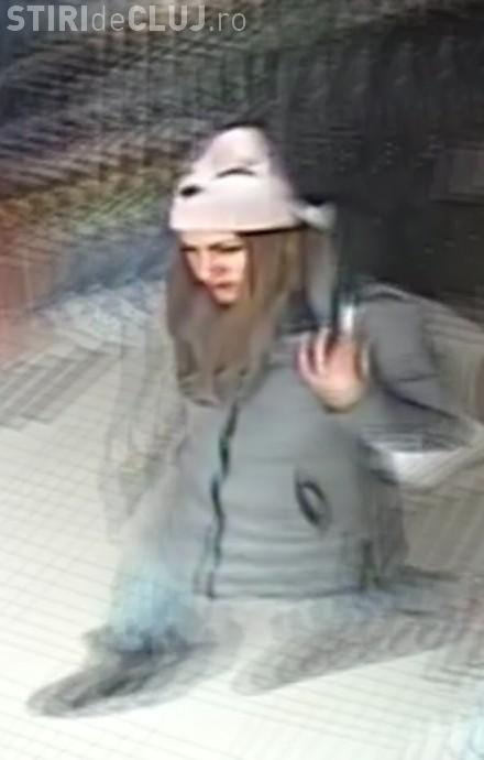 Hoața de genți de la Dej, prinsă de polițiști. A fost găsită după ce a comis un nou furt, la Cluj FOTO