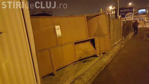 Nou accident pe Varianta Zorilor - Mănăștur! Un clujean cere soluții Primăriei Cluj-Napoca - FOTO