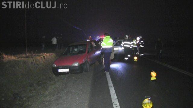 Accident pe un drum din Cluj. Pompierii și SMURD-ul au intervenit VIDEO