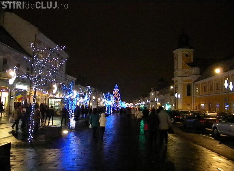 Clujul va fi împodobit de 2.500 de decorațiuni de Sărbători în acest an. În ce culori va lumina orașul