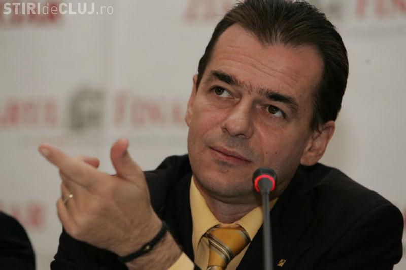 Ludovic Orban și-a lansat candidatura la președinția PNL