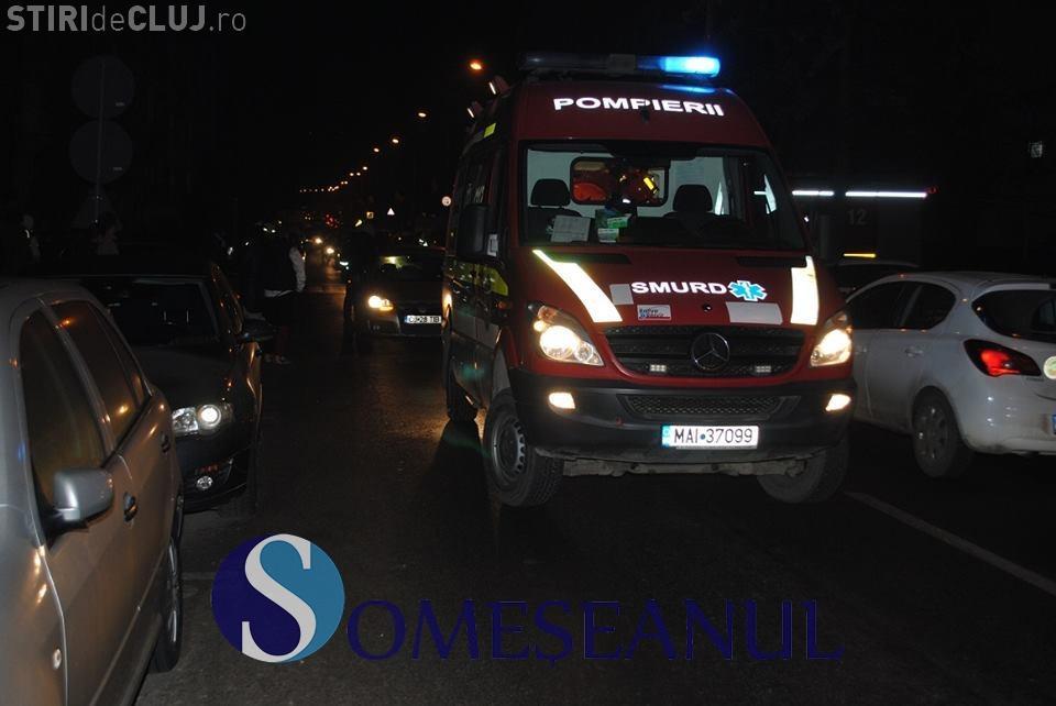 Femeie rănită grav pe strada Donath, din Cluj-Napoca. A fost lovită chiar pe trecerea de pietoni