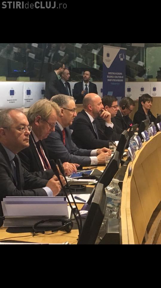 Boc, prezent la Bruxelles la Comitetul European al Regiunilor. Clujul va organiza în premieră o conferință europeană importantă