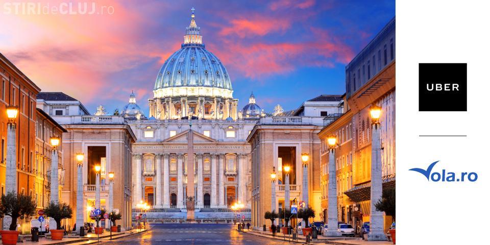 Invită-ți prietenii să folosească Uber și poți câștiga un city break la Roma oferit de Uber și Vola.ro (P)